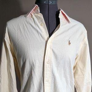 Ralph Lauren Blue Label Button Down Shirt Size 8